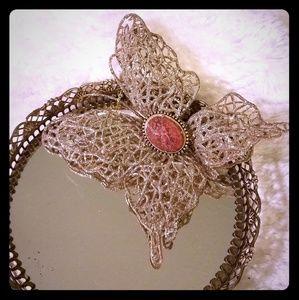 Vintage Texas Agate Brooch